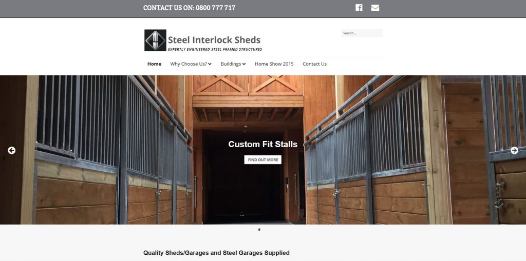 Steel Interlock Sheds Testimonial - Web Presence NZ