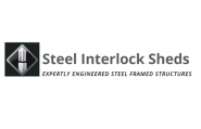 Steel Interlock Sheds Logo